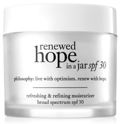 spf 30 face moisturizer renewed hope in a jar