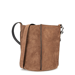 ACNE STUDIOS Market brown suede bucket bag