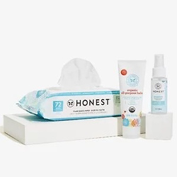 The Honest Company‎ Portable Set (Disposable hand sanitizer + wipes + moisturizer)