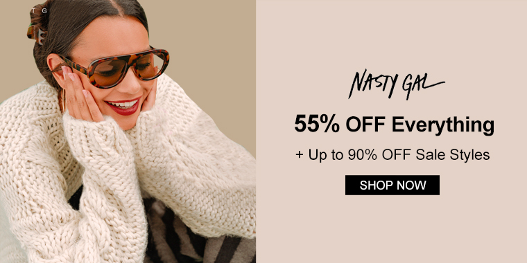 55% OFF Everything + Up to 90% OFF Sale Styles