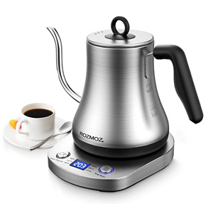 Rozmoz Electric Gooseneck Kettle with 6 Various Temperature Control