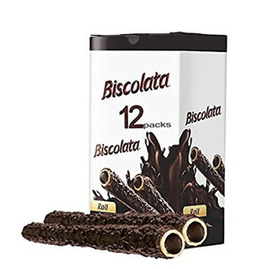 Biscolata Nirvana Rolled Wafers