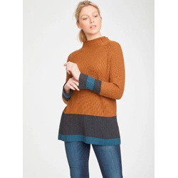Helmi Organic Cotton & Wool Colour Block Jumper