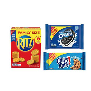 OREO, RITZ, & CHIPS AHOY! Snack Variety Pack