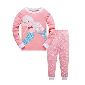 Garsumiss Girls Pajamas Toddler Girl Sleepwear Mermaid Pajamas