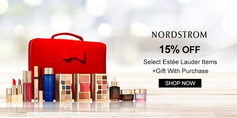 Nordstrom: 15% OFF Select Estée Lauder Items