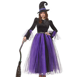 Adult Witch Costume Deluxe