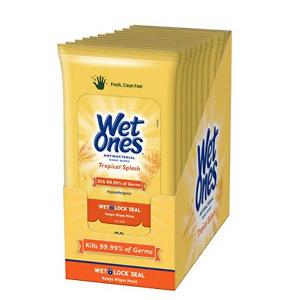 Wet Ones 消毒湿巾 200张