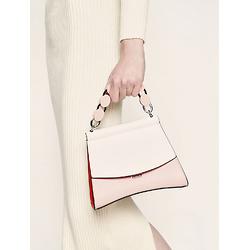 Acrylic Handle Sculptural Bag