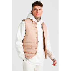 SMART BUTTON DOWN PADDED GILET
