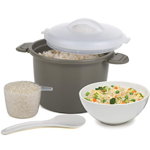 Progressive International Set Microwave Rice Cooker