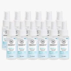 The Honest Company‎ 免洗洗手喷雾, Free + Clear, 12-Pack