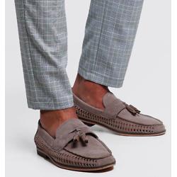 吊穗织面乐福鞋