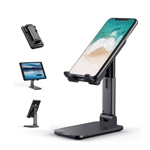 Cell Phone Stand, Tekpluze Angle Height Adjustable Cell Phone Stand