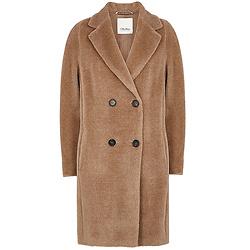 'S MAX MARA Locri camel alpaca-blend coat
