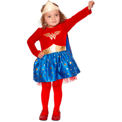 Toddler Wonder Woman Dress - DC Comics