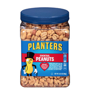 Planters Salted Cocktail Peanuts