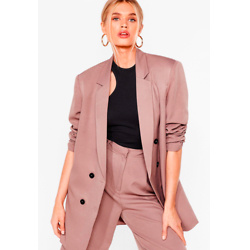Ain't Nobody's Business Oversized Blazer