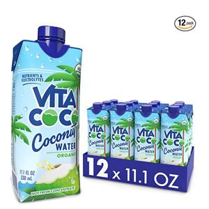 Vita Coco 有机椰子水 11.1oz 12瓶