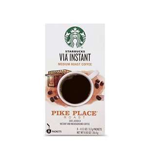 Starbucks VIA Instant Coffee Medium Roast Packets