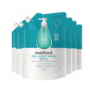 Method Gel Hand Soap Refill, Waterfall