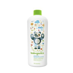 Babyganics Alcohol-Free Foaming Hand Sanitizer Bottle