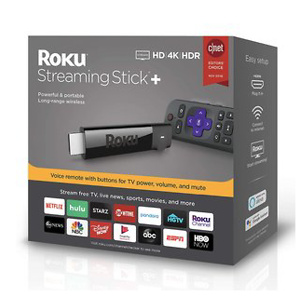 Roku Streaming Stick+ | HD/4K/HDR Streaming Device