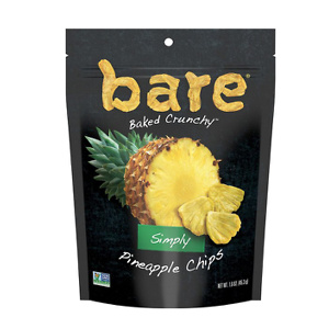 bare Simply Pineapple Fruit Snack Pack, Gluten Free