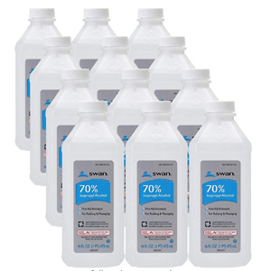 Swan 70% Isopropyl Alcohol First Aid Antiseptic