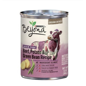 Purina Beyond Beef, Potato & Green Bean Recipe Ground Entrée