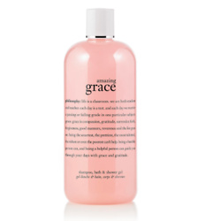 shampoo, bath & shower gel amazing grace