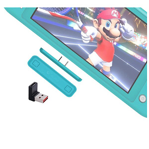 Gulkit Switch Bluetooth Adapter Compatible with Nintendo Switch & Lite