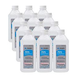 Swan 70% 异丙醇消毒酒精 16 oz x 12瓶