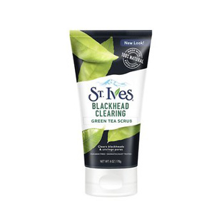 St. Ives Blackhead Clearing Face Scrub Clears