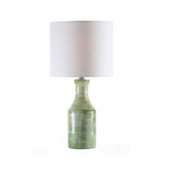 Pottery Barn Melrose Table Lamp - Green