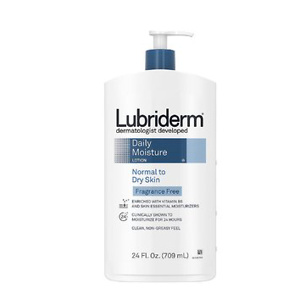 Lubriderm Daily Moisture Hydrating Unscented Body Lotion