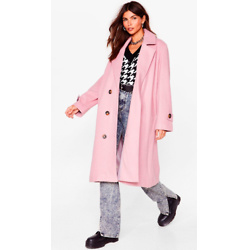 Got It Covered Faux Wool Longline Coat