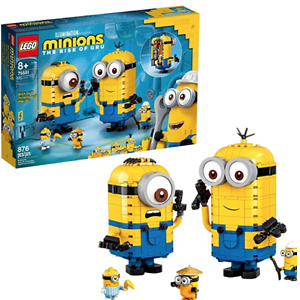 LEGO Minions: Brick-Built Minions and Their Lair