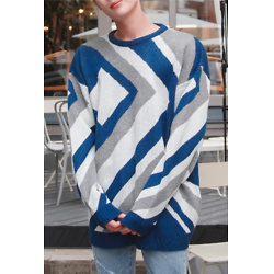 STYLEMAN Luxury Pattern Overfit Knit