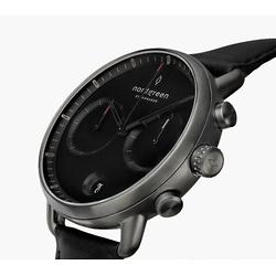 Pioneer | Black Dial - Black Leather