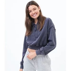 Aeropostale cropped sweatshirt