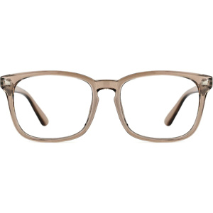 TIJN Blue Light Blocking Glasses Square Nerd Eyeglasses Frame