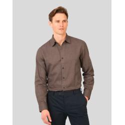 英伦风格纹棉质衬衫