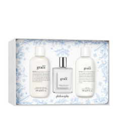 shower gel, eau de toilette, & body lotion gift set