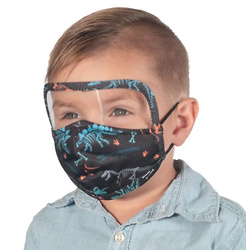 Kids Reusable One-Piece Shield Mask