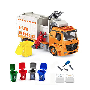 iLifeTech Garbage Trucks Toy with Light and Sound