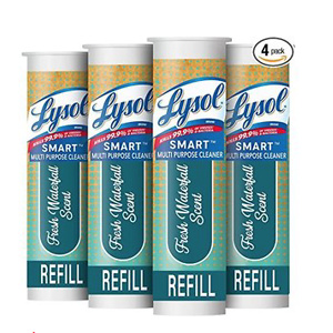 Lysol Smart Refill Cartridges, 4 Count