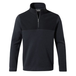 Men's Taransay Half-Zip Fleece - Steel Blue