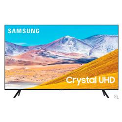 三星50英寸TU8000黑色水晶UHD 4K智能高清电视