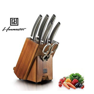 Hanmaster Kitchen Germany High Carbon Stainless Steel 7-piece Razor Sharp Knife Set
